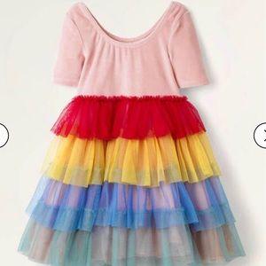 NWT mini boden Velvet Bodice Tulle Dress